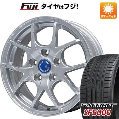 タイヤはフジ 送料無料 BRANDLE ブランドル M69 7J 7.00-17 SAFFIRO サフィーロ SF5000(限定) 225/50R17 17インチ サマータイヤ ホイール4本セット