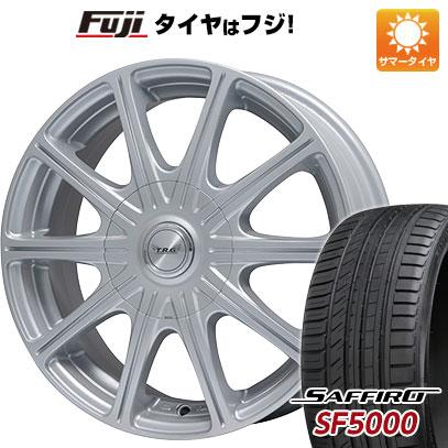 タイヤはフジ 送料無料 BIGWAY ビッグウエイ TRG MP10 5.5J 5.50-14 SAFFIRO サフィーロ SF5000(限定) 185/65R14 14インチ サマータイヤ ホイール4本セット