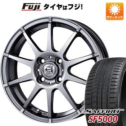 タイヤはフジ 送料無料 TECHNOPIA テクノピア アフロディーテ HS 5.5J 5.50-14 SAFFIRO サフィーロ SF5000(限定) 175/65R14 14インチ サマータイヤ ホイール4本セット