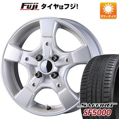 タイヤはフジ 送料無料 CRIMSON クリムソン グーフィー スプリッター 6J 6.00-15 SAFFIRO サフィーロ SF5000(限定) 185/55R15 15インチ サマータイヤ ホイール4本セット
