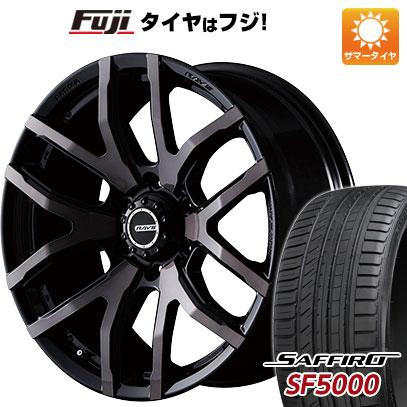 タイヤはフジ 送料無料 ハイエース200系 RAYS レイズ デイトナ FDX F6 8.5J 8.50-20 SAFFIRO サフィーロ SF5000(限定) 225/35R20 20インチ サマータイヤ ホイール4本セット
