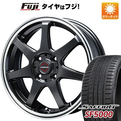 タイヤはフジ 送料無料 BLEST ブレスト ユーロマジック タイプS-07 6J 6.00-16 SAFFIRO サフィーロ SF5000(限定) 195/50R16 16インチ サマータイヤ ホイール4本セット