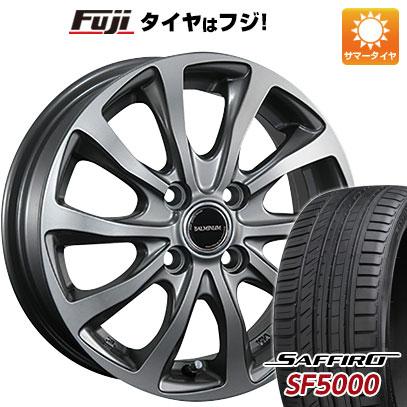 タイヤはフジ 送料無料 BRIDGESTONE ブリヂストン バルミナ TR10 6J 6.00-16 SAFFIRO サフィーロ SF5000(限定) 205/45R16 16インチ サマータイヤ ホイール4本セット