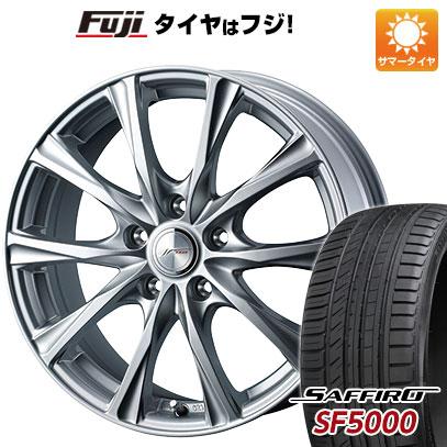 タイヤはフジ 送料無料 WEDS ウェッズ ジョーカー マジック 6J 6.00-15 SAFFIRO サフィーロ SF5000(限定) 205/65R15 15インチ サマータイヤ ホイール4本セット