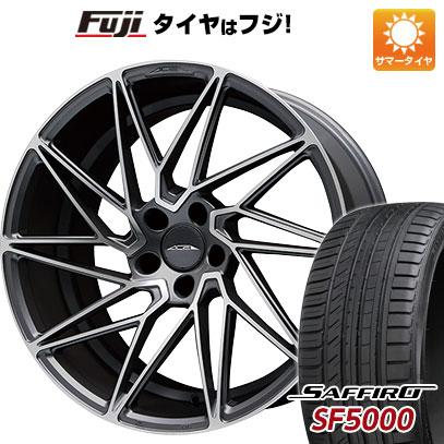 タイヤはフジ 送料無料 ACE ドリブン F:8.50-19 R:9.50-19 SAFFIRO サフィーロ SF5000(限定) F:225/40R19 R:255/35R19 サマータイヤ ホイール4本セット
