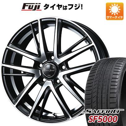 タイヤはフジ 送料無料 BLEST ブレスト ユーロスポーツ シャンドリィSE 6.5J 6.50-17 SAFFIRO サフィーロ SF5000(限定) 205/50R17 17インチ サマータイヤ ホイール4本セット