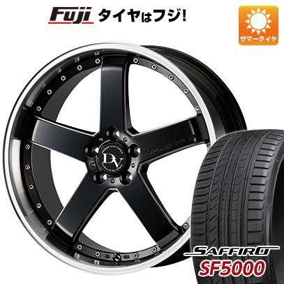 タイヤはフジ 送料無料 COSMIC コスミック ディアヴォレット ヴァレンティーナ 7J 7.00-17 SAFFIRO サフィーロ SF5000(限定) 215/50R17 17インチ サマータイヤ ホイール4本セット