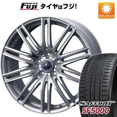 タイヤはフジ 送料無料 WEDS ウェッズ レオニス NAVIA 03 6J 6.00-15 SAFFIRO サフィーロ SF5000(限定) 195/65R15 15インチ サマータイヤ ホイール4本セット