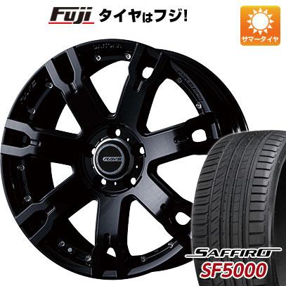 タイヤはフジ 送料無料 RAYS レイズ デイトナ FDX F7S 7.5J 7.50-18 SAFFIRO サフィーロ SF5000(限定) 235/50R18 18インチ サマータイヤ ホイール4本セット