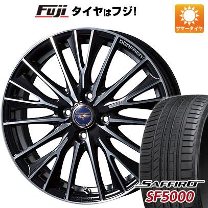 タイヤはフジ 送料無料 TOPY トピー ドルフレン デルディオ 6J 6.00-16 SAFFIRO サフィーロ SF5000(限定) 195/50R16 16インチ サマータイヤ ホイール4本セット