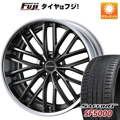 タイヤはフジ 送料無料 WEDS ウェッズ マーベリック 910M 8J 8.00-18 SAFFIRO サフィーロ SF5000(限定) 235/45R18 18インチ サマータイヤ ホイール4本セット