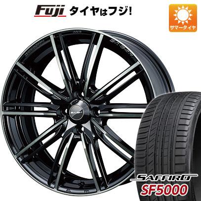 タイヤはフジ 送料無料 WEDS ウェッズスポーツ SA-54R 6J 6.00-15 SAFFIRO サフィーロ SF5000(限定) 185/55R15 15インチ サマータイヤ ホイール4本セット