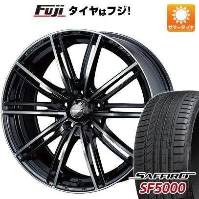 タイヤはフジ 送料無料 WEDS ウェッズスポーツ SA-54R 7J 7.00-16 SAFFIRO サフィーロ SF5000(限定) 195/50R16 16インチ サマータイヤ ホイール4本セット