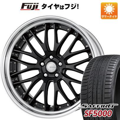 タイヤはフジ 送料無料 WORK ワーク グノーシスGR 204 8.5J 8.50-21 SAFFIRO サフィーロ SF5000(限定) 255/30R21 21インチ サマータイヤ ホイール4本セット