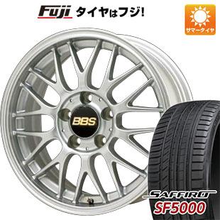 タイヤはフジ 送料無料 BBS JAPAN BBS RG-F 6.5J 6.50-16 SAFFIRO サフィーロ SF5000(限定) 195/55R16 16インチ サマータイヤ ホイール4本セット