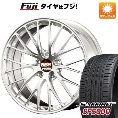 タイヤはフジ 送料無料 BBS JAPAN BBS RZ-D 8.5J 8.50-20 SAFFIRO サフィーロ SF5000(限定) 245/45R20 20インチ サマータイヤ ホイール4本セット