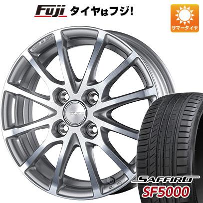 タイヤはフジ 送料無料 BRIDGESTONE ブリヂストン エコフォルム CRS/171 6J 6.00-15 SAFFIRO サフィーロ SF5000(限定) 205/65R15 15インチ サマータイヤ ホイール4本セット