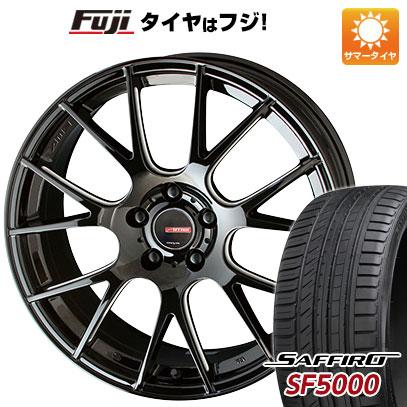 【送料無料】 225/55R18 18インチ KYOHO サーキュラー RM-7 7.5J 7.50-18 SAFFIRO サフィーロ SF5000(限定) サマータイヤ ホイール4本セット
