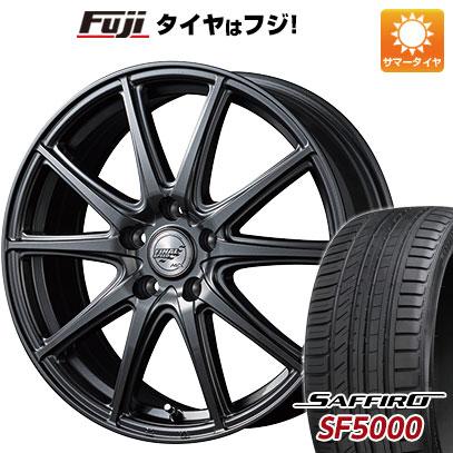 タイヤはフジ 送料無料 MID ファイナルスピード GR-ガンマ 5.5J 5.50-15 SAFFIRO サフィーロ SF5000(限定) 185/55R15 15インチ サマータイヤ ホイール4本セット