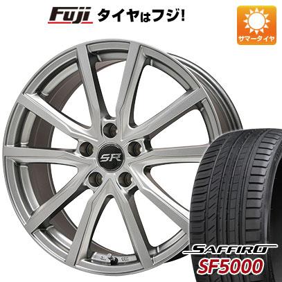 タイヤはフジ 送料無料 BRANDLE ブランドル N52 7J 7.00-17 SAFFIRO サフィーロ SF5000(限定) 215/60R17 17インチ サマータイヤ ホイール4本セット