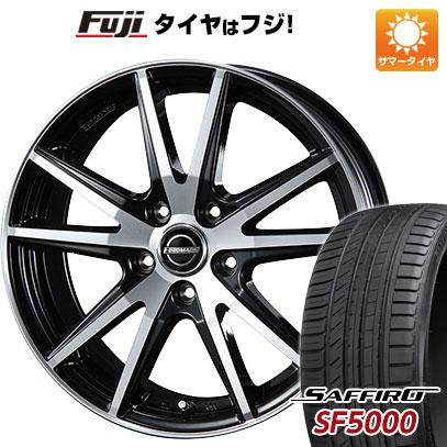 タイヤはフジ 送料無料 BLEST ブレスト ユーロマジック ランスSTP 7J 7.00-17 SAFFIRO サフィーロ SF5000(限定) 225/50R17 17インチ サマータイヤ ホイール4本セット