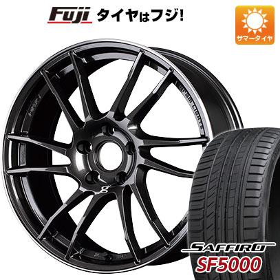 タイヤはフジ 送料無料 RAYS レイズ グラムライツ 57XTC 7J 7.00-17 SAFFIRO サフィーロ SF5000(限定) 215/50R17 17インチ サマータイヤ ホイール4本セット