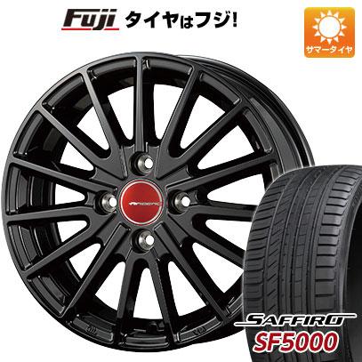 タイヤはフジ 送料無料 KOSEI コーセイ エアベルグ ゼノン 5.5J 5.50-15 SAFFIRO サフィーロ SF5000(限定) 185/55R15 15インチ サマータイヤ ホイール4本セット
