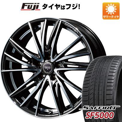 タイヤはフジ 送料無料 TOPY トピー ドルフレン ビゲープ 7J 7.00-17 SAFFIRO サフィーロ SF5000(限定) 205/50R17 17インチ サマータイヤ ホイール4本セット