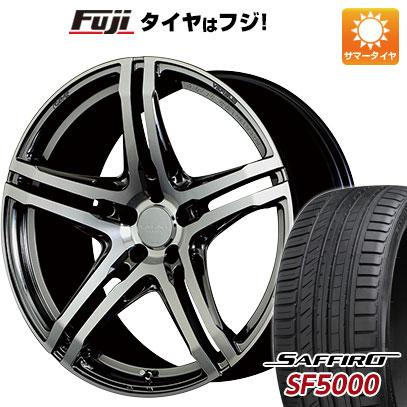 タイヤはフジ 送料無料 VERSUS ベルサス ヴェリエンス V.V.5.2S クラフトコレクション 8J 8.00-19 SAFFIRO サフィーロ SF5000(限定) 215/35R19 19インチ サマータイヤ ホイール4本セット