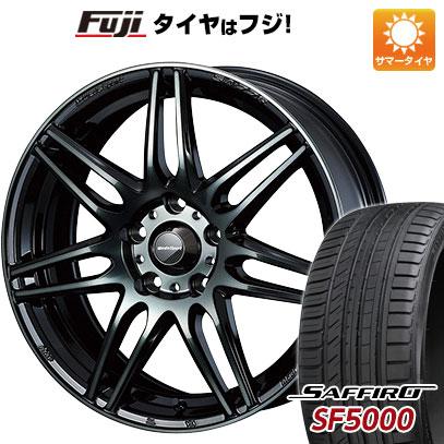 タイヤはフジ 送料無料 WEDS ウェッズスポーツ SA-77R 7J 7.00-17 SAFFIRO サフィーロ SF5000(限定) 215/50R17 17インチ サマータイヤ ホイール4本セット