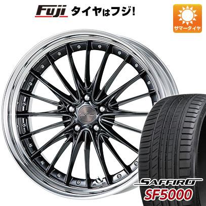 タイヤはフジ 送料無料 WORK ワーク シュヴァート レグニッツ 9J 9.00-21 SAFFIRO サフィーロ SF5000(限定) 265/45R21 21インチ サマータイヤ ホイール4本セット