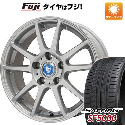 タイヤはフジ 送料無料 BRANDLE ブランドル 302 6J 6.00-15 SAFFIRO サフィーロ SF5000(限定) 195/65R15 15インチ サマータイヤ ホイール4本セット