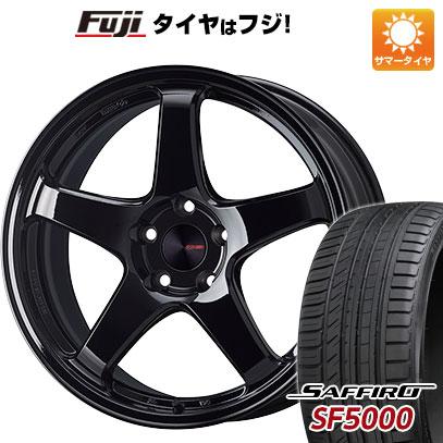 【送料無料】 235/40R18 18インチ ENKEI エンケイ PF05 Limited 8J 8.00-18 SAFFIRO サフィーロ SF5000(限定) サマータイヤ ホイール4本セット