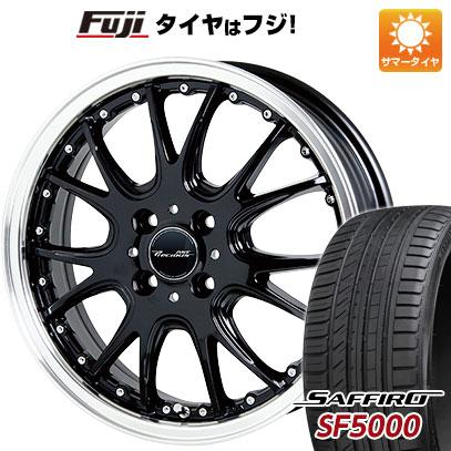 タイヤはフジ 送料無料 HOT STUFF ホットスタッフ プレシャス アストM2 6J 6.00-16 SAFFIRO サフィーロ SF5000(限定) 195/50R16 16インチ サマータイヤ ホイール4本セット