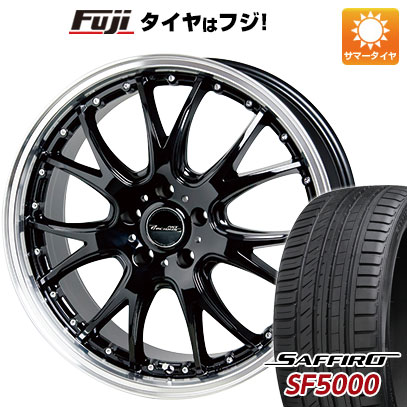 タイヤはフジ 送料無料 HOT STUFF ホットスタッフ プレシャス アストM2 7J 7.00-18 SAFFIRO サフィーロ SF5000(限定) 215/40R18 18インチ サマータイヤ ホイール4本セット