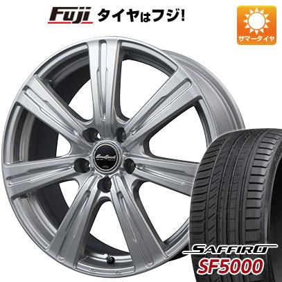 タイヤはフジ 送料無料 MID ユーロスピード C-07 6J 6.00-15 SAFFIRO サフィーロ SF5000(限定) 205/65R15 15インチ サマータイヤ ホイール4本セット