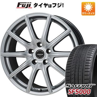 タイヤはフジ 送料無料 MONZA モンツァ ZACK シュポルト01 6J 6.00-15 SAFFIRO サフィーロ SF5000(限定) 195/65R15 15インチ サマータイヤ ホイール4本セット