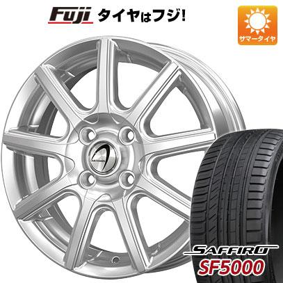 タイヤはフジ 送料無料 TECHNOPIA テクノピア アルテミス NS9 5.5J 5.50-15 SAFFIRO サフィーロ SF5000(限定) 185/55R15 15インチ サマータイヤ ホイール4本セット