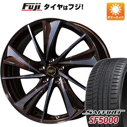 タイヤはフジ 送料無料 TOPY トピー ドルフレン ヴァルネ 7J 7.00-18 SAFFIRO サフィーロ SF5000(限定) 225/45R18 18インチ サマータイヤ ホイール4本セット