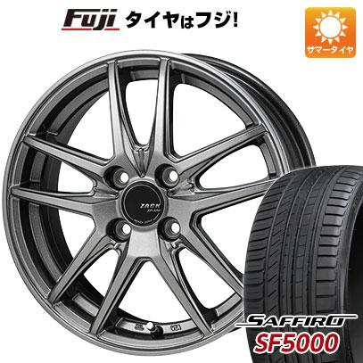 【送料無料】 185/55R15 15インチ MONZA ZACK JP-550 5.5J 5.50-15 SAFFIRO サフィーロ SF5000(限定) サマータイヤ ホイール4本セット