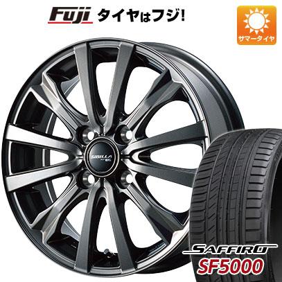 【送料無料】 185/55R15 15インチ TOPY シビラ NEXT W-5 5.5J 5.50-15 SAFFIRO サフィーロ SF5000(限定) サマータイヤ ホイール4本セット