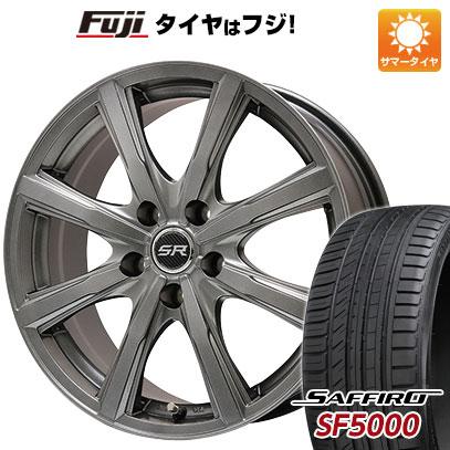 【送料無料】 195/65R15 15インチ BRANDLE ブランドル T8 6J 6.00-15 SAFFIRO サフィーロ SF5000(限定) サマータイヤ ホイール4本セット