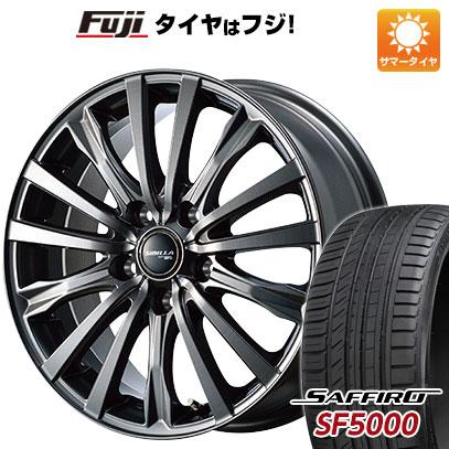 【送料無料】 225/55R17 17インチ TOPY シビラ NEXT W-5 7J 7.00-17 SAFFIRO サフィーロ SF5000(限定) サマータイヤ ホイール4本セット