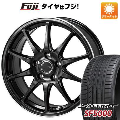 【送料無料】 225/55R17 17インチ MONZA JPスタイル R10 7J 7.00-17 SAFFIRO サフィーロ SF5000(限定) サマータイヤ ホイール4本セット