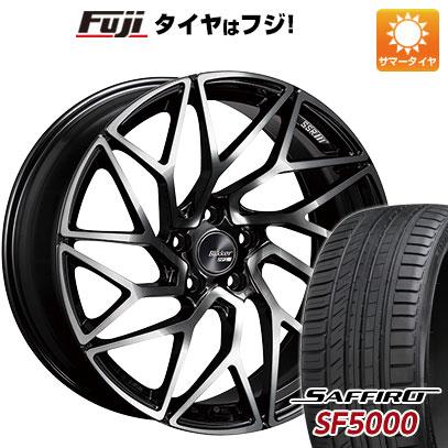 【送料無料】 255/45R20 20インチ SSR ブリッカー 01T 8.5J 8.50-20 SAFFIRO サフィーロ SF5000(限定) サマータイヤ ホイール4本セット