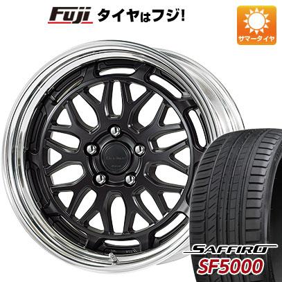 【送料無料】 235/40R18 18インチ WORK シーカー MX 8J 8.00-18 SAFFIRO サフィーロ SF5000(限定) サマータイヤ ホイール4本セット