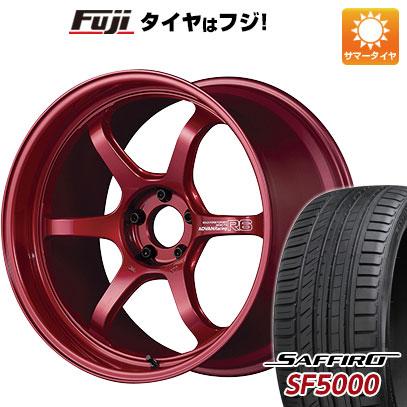 【送料無料】 245/30R20 20インチ YOKOHAMA アドバンレーシング R6 8.5J 8.50-20 SAFFIRO サフィーロ SF5000(限定) サマータイヤ ホイール4本セット