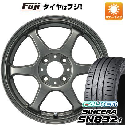 タイヤはフジ 送料無料 カジュアルセット タイプL 2. 5J 5.00-14 FALKEN シンセラ SN832i 155/65R14 14インチ サマータイヤ ホイール4本セット