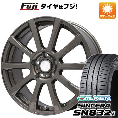 タイヤはフジ 送料無料 BRANDLE ブランドル 565Z 6J 6.00-15 FALKEN シンセラ SN832i 195/65R15 15インチ サマータイヤ ホイール4本セット