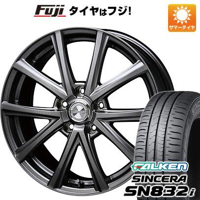 タイヤはフジ 送料無料 BLEST ブレスト ユーロマジック アスパイアFX限定 6.5J 6.50-16 FALKEN シンセラ SN832i 205/60R16 16インチ サマータイヤ ホイール4本セット